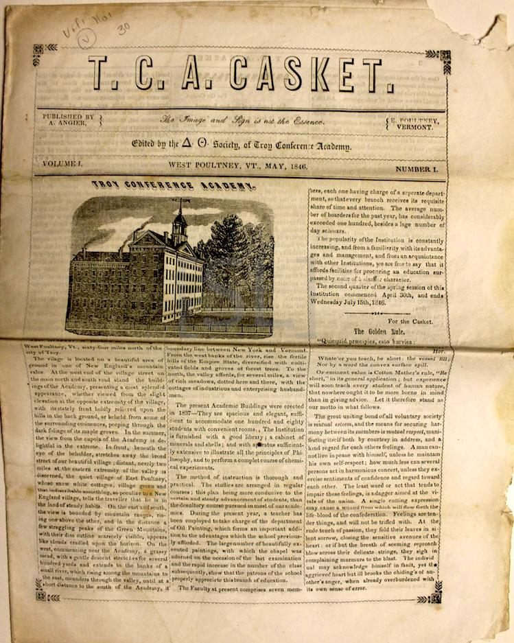 T.C.A. Casket