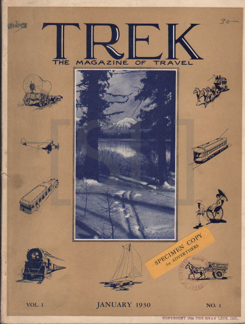 Trek. The Magazine of Travel