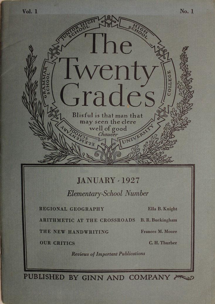 Twenty Grades