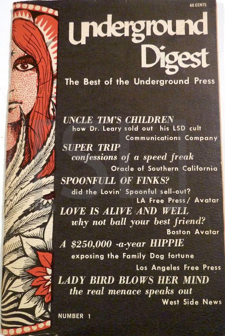 Underground Digest; Best of the Underground Press