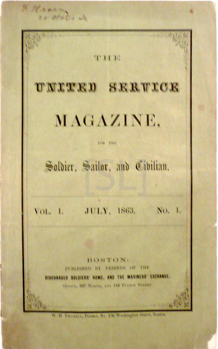 United Service Magazine for the Soldier, Sailor and Civilian