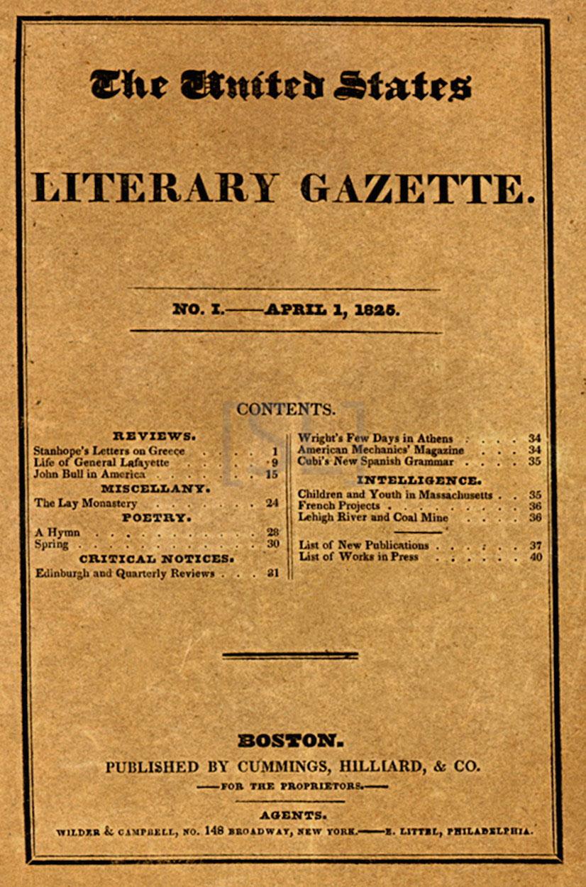 United States Literary Gazette