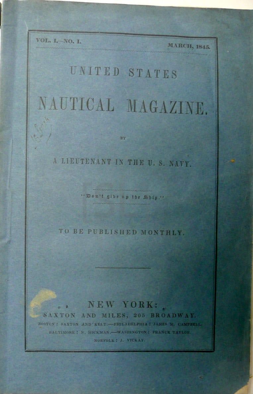 United States Nautical Magazine