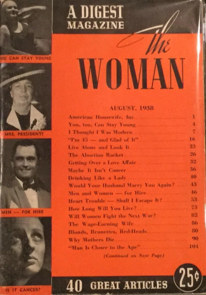 Woman; A Digest Magazine