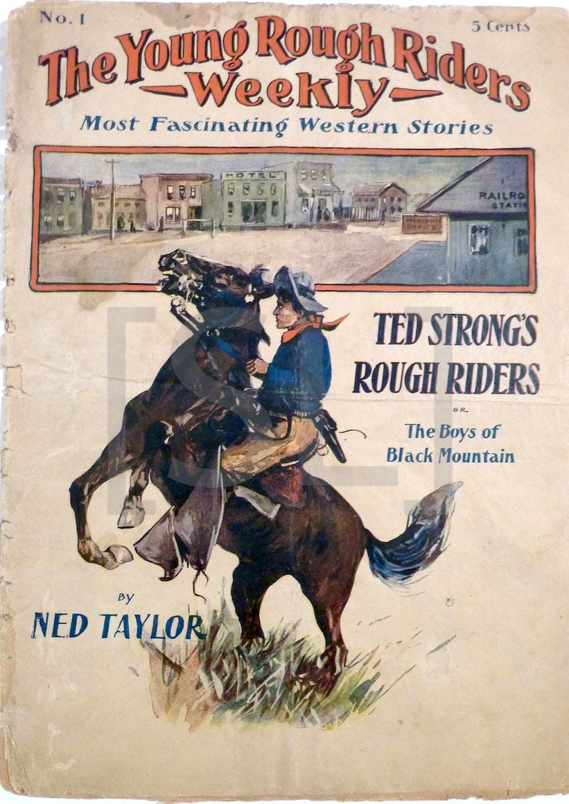 Young Rough Riders Weekly; Most Fascinating Western Stories