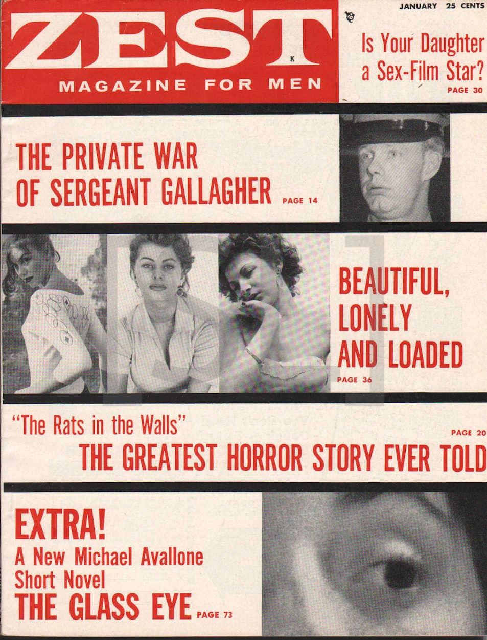 Zest. Magazine For Men