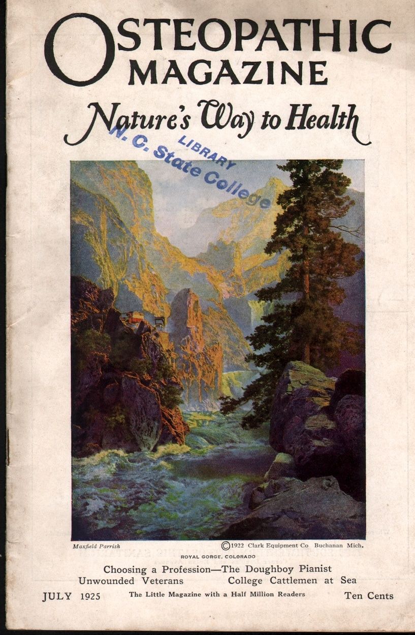 Osteopathic Magazine Nature's Way to Health