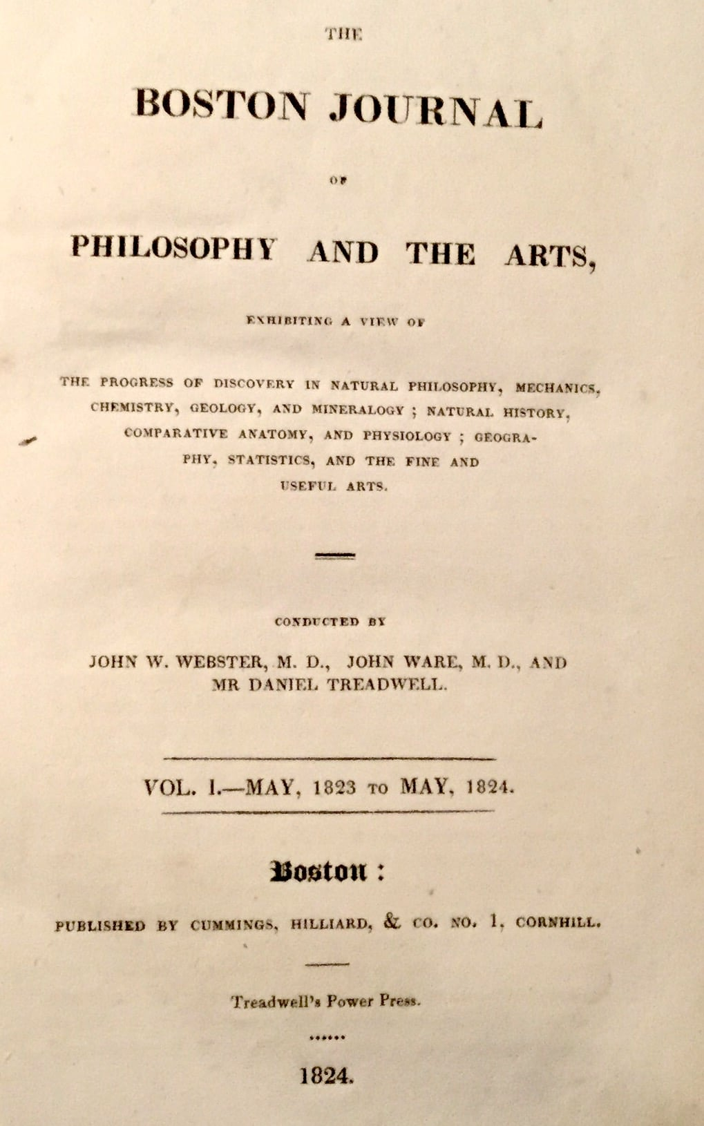 Boston Journal of Philosophy and the Arts