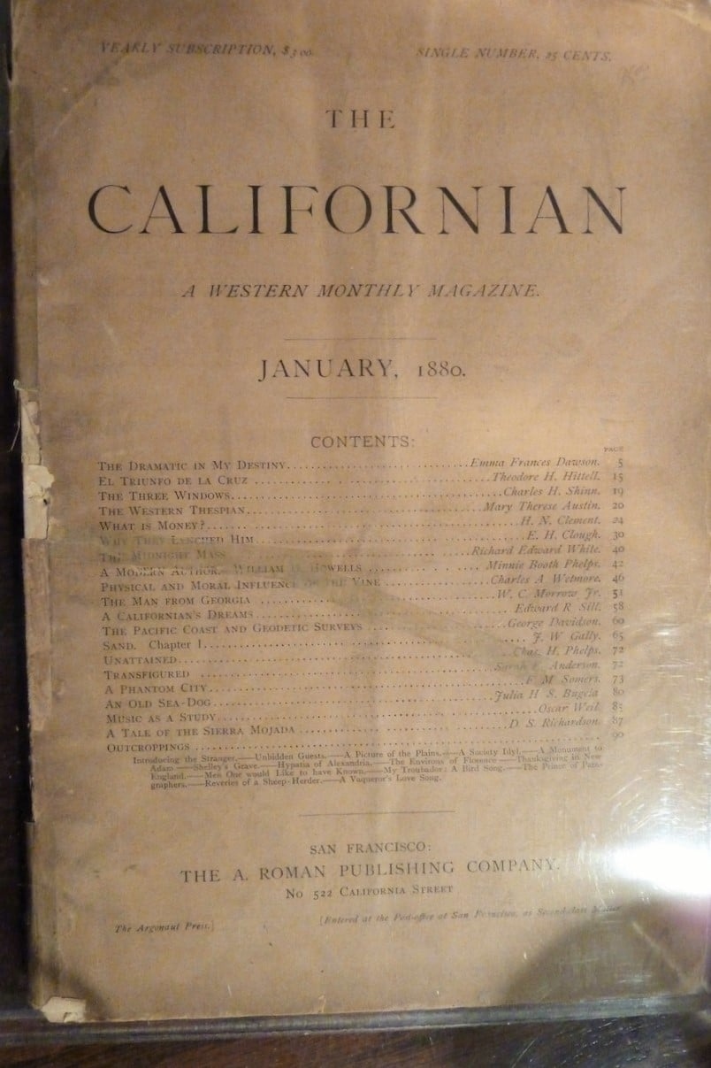 Californian, A Western Monthly Magazine