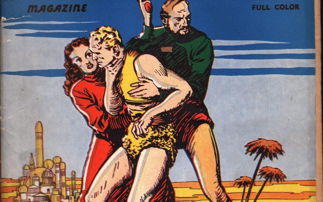 Flash Gordon Strange Adventures Magazine