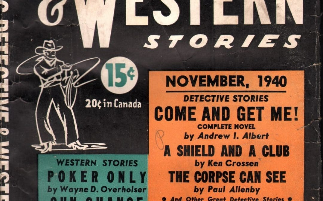 Stirring Detective and Western Stories