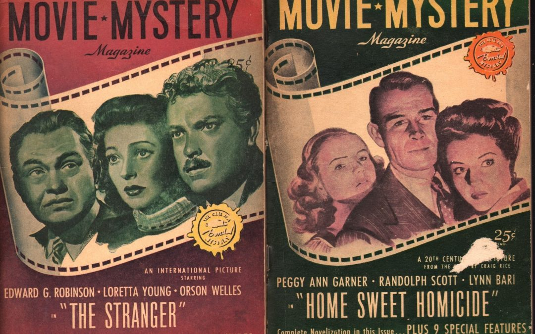 Movie Mystery Magazine
