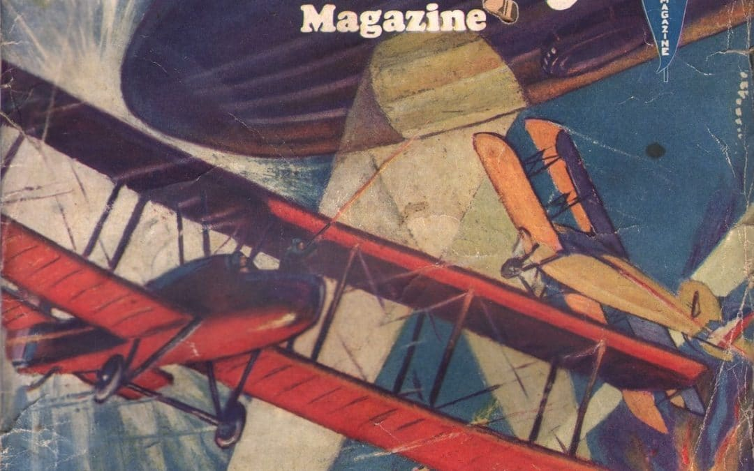 Sky-High Library Magazine