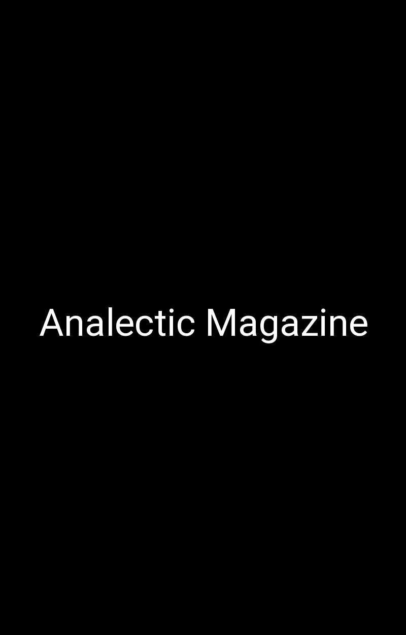 Analectic Magazine