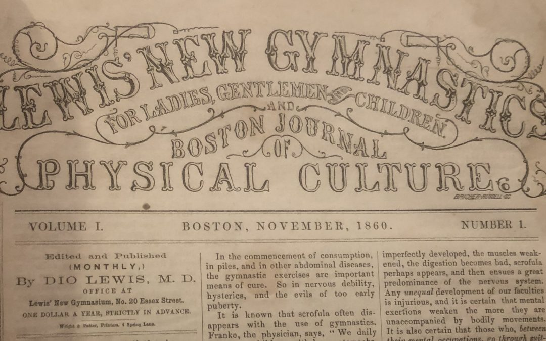 Lewis' New Gymnastics for Ladies, Gentlemen and Children and Boston Journal of Physical Culture
