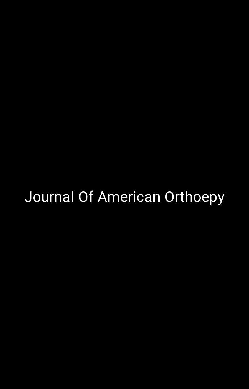 Journal Of American Orthoepy