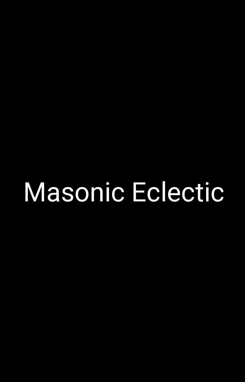 Masonic Eclectic