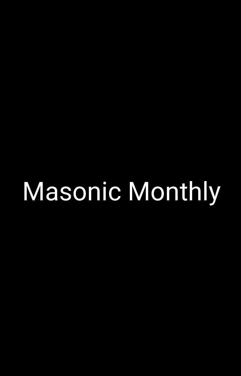 Masonic Monthly