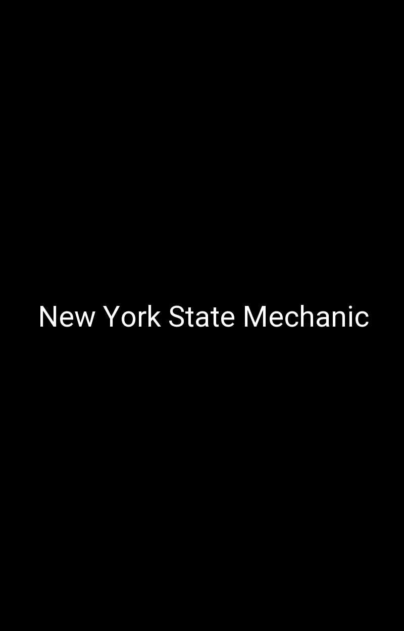 New York State Mechanic