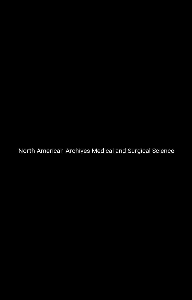 North American Archives Medical and Surgical Science