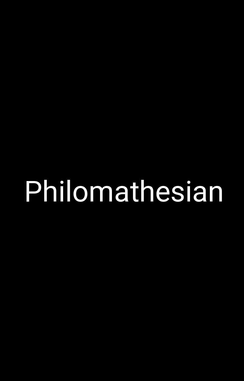 Philomathesian
