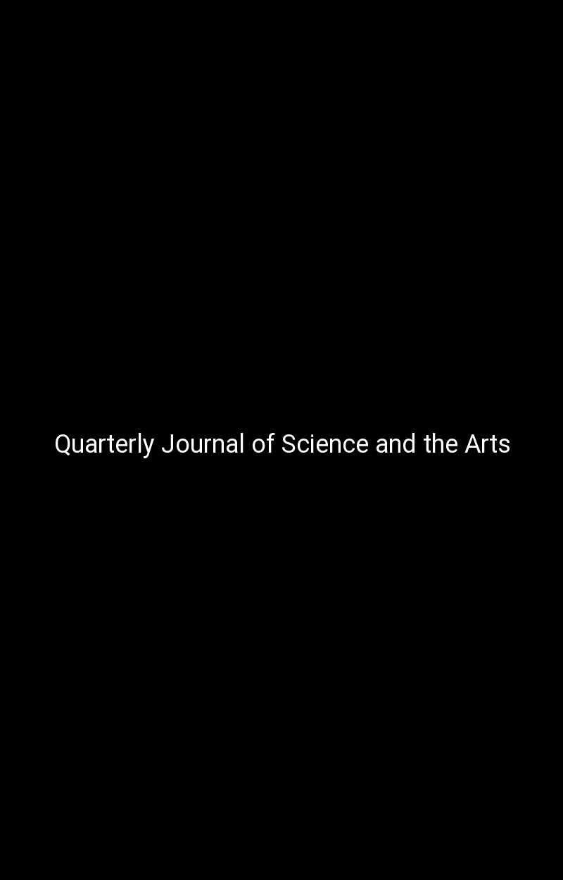 Quarterly Journal of Science and the Arts