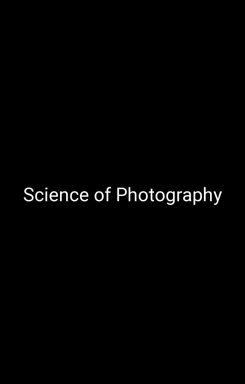 Science of Photography