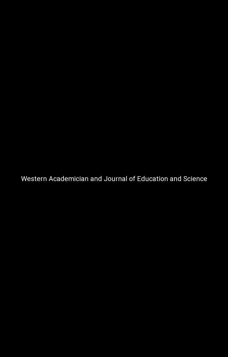 Western Academician and Journal of Education and Science