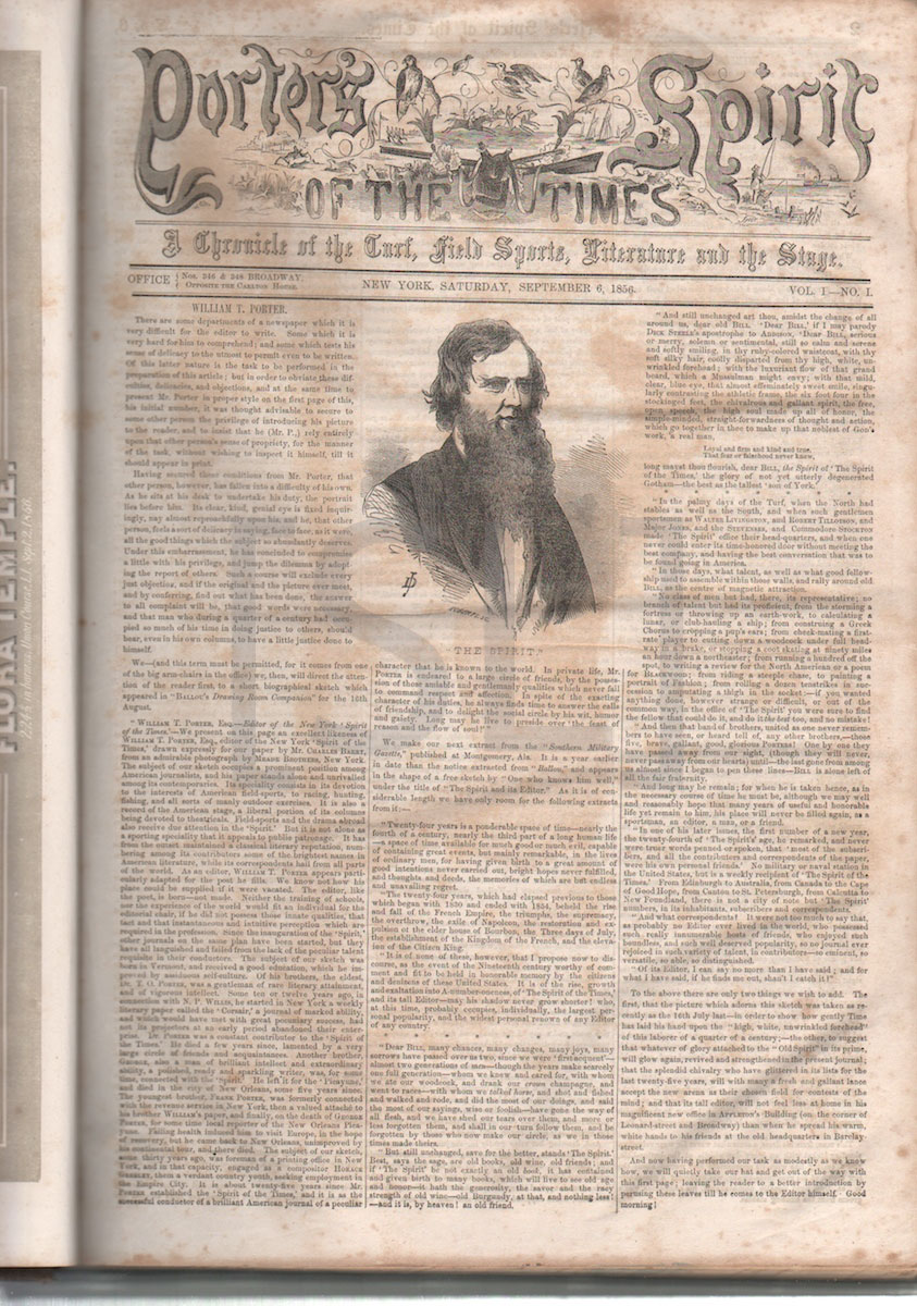 Porter's Spirit of the Times